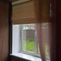джутовые рулонные шторы